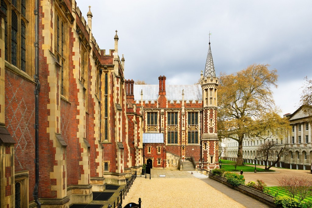 Lincoln's Inn Fields and Lincoln's Inn Photo: Bigstock