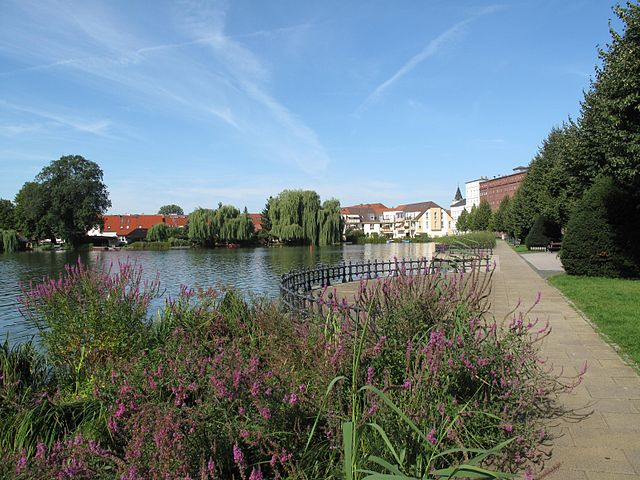 Die Seepromenade am Nordufer in Müllrose