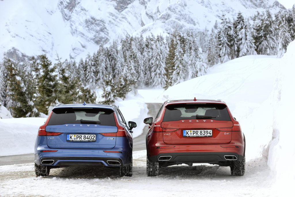 Volvo V60 R-Design und Cross Country Foto: Volvo