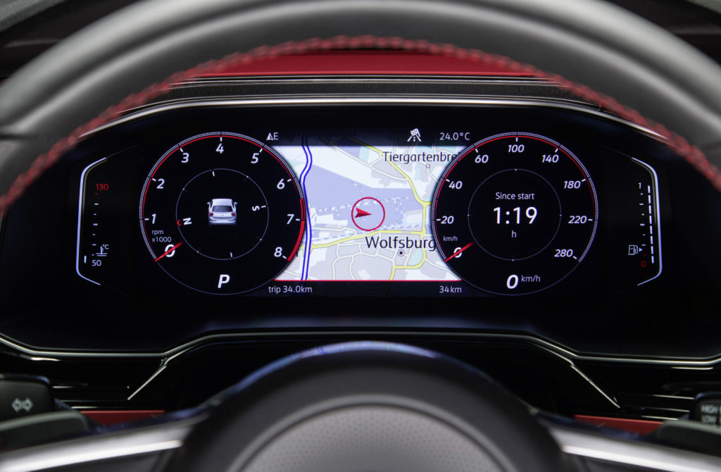 "Das ""Active Info Display"" im VW Polo GTI kostet 400 Euro Foto: VW"