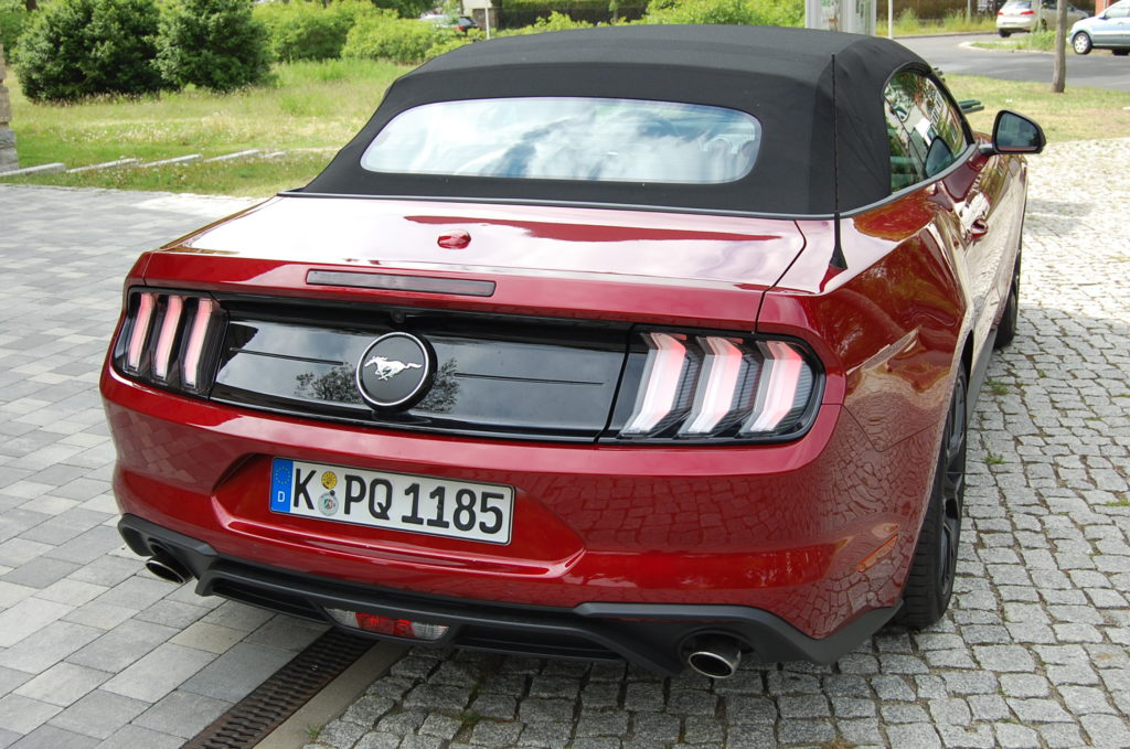 Ford Mustang Convertible Foto: F. Moritz